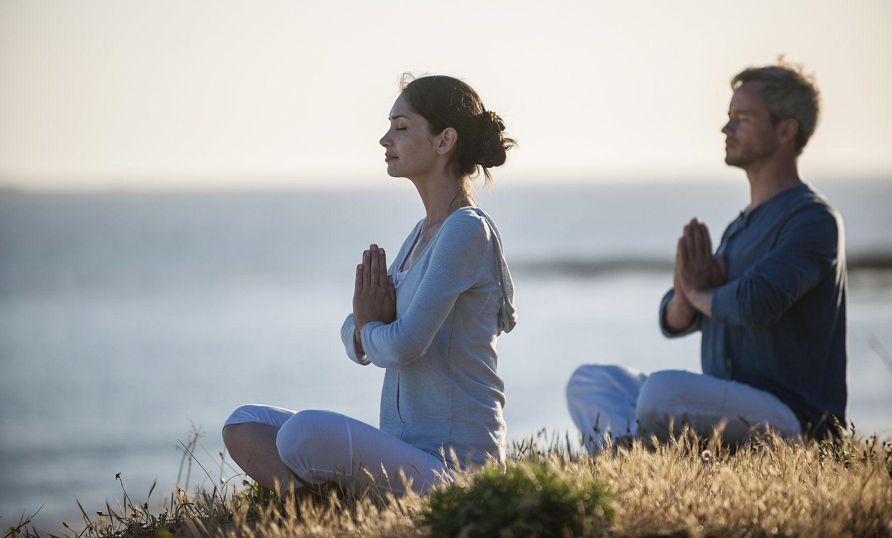 Resultado de imagen para meditación en pareja